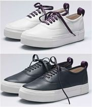 Eytys Unisex Leather Low-Top Sneakers