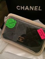 CHANEL MATELASSE Black/RHW Lambskin Classic Flap Mini Rectangular Bag