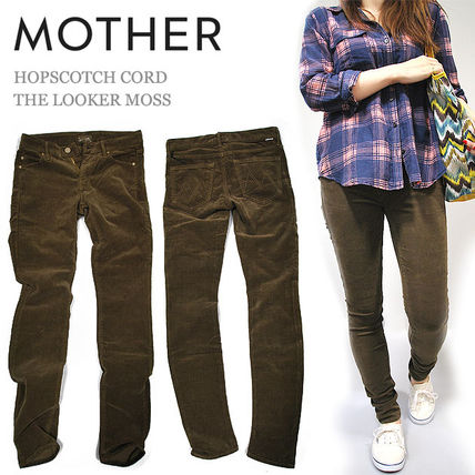 Corduroy Long Skinny Pants