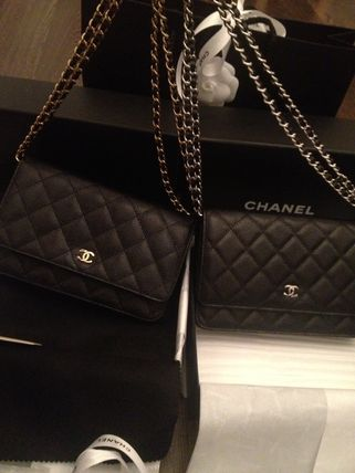 CHANEL MATELASSE Casual Style 3WAY Chain Plain Leather Party Style