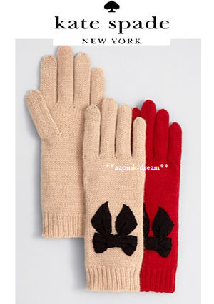 A NEW Smartphone OK adult SWEET Ribbon gloves kate spade new
