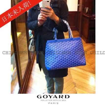 Paris store limited color GOYARD Bellechasse, Bluemarine