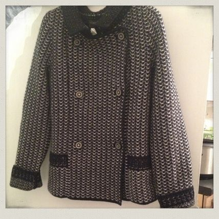 CHANEL Wool Cashmere Medium Party Style Elegant Style Formal Style