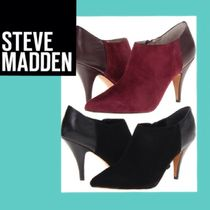 Steve Madden Suede Plain Pin Heels Ankle & Booties Boots