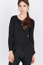 Maurie and Eve Platinum Short Street Style Long Sleeves Plain Cotton Cropped
