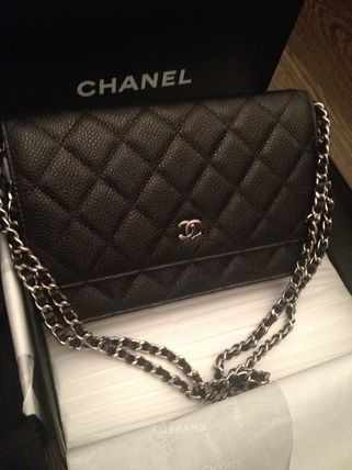 CHANEL CHAIN WALLET Luxury Brand Bag Handbags