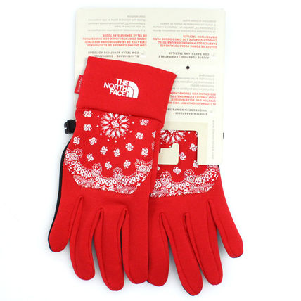Supreme Paisley Street Style Collaboration Touchscreen Gloves