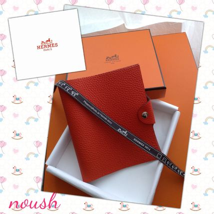 1 piece leather feels light red Yurisu to PM diary