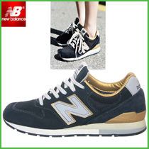 New Balance 996 Round Toe Suede Street Style Low-Top Sneakers