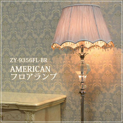 ♦ LB Crystal relief / AMERICAN table lamp.