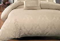 Plain Comforter Covers Damask Co-ord Duvet Covers