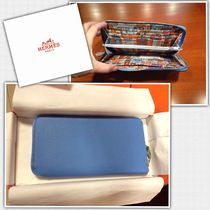HERMES Silk In Long Wallets