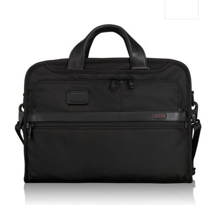 TUMI ALPHACompact Large Screen Laptop Brief 26114D2