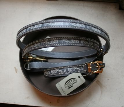 GOYARD small dog collars and leads