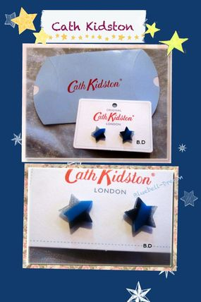 Star Casual Style Earrings & Piercings