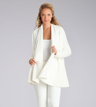 Long Sleeves Plain Medium Cardigans