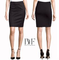 DIANE von FURSTENBERG Pencil Skirts Office Style Skirts