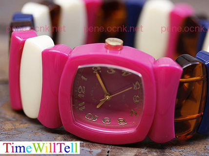 Street Style Silicon Square Analog Watches