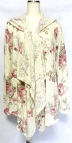 Abercrombie & Fitch Flower Patterns Long Sleeves Cotton Medium Shirts & Blouses