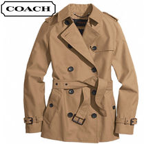 Coach CLASSIC Plain Trench Coats