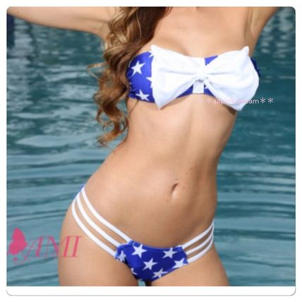 Star Tropical Patterns Bikinis