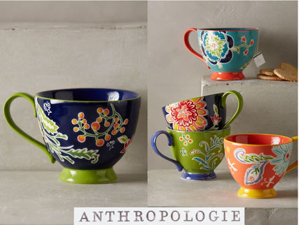 popular Anthropologie * Bellina Blooms mug