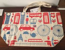 Marks&Spencer Union Jack mark Unisex A4 Shoppers