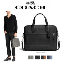 Coach A4 2WAY Plain Leather Business & Briefcases