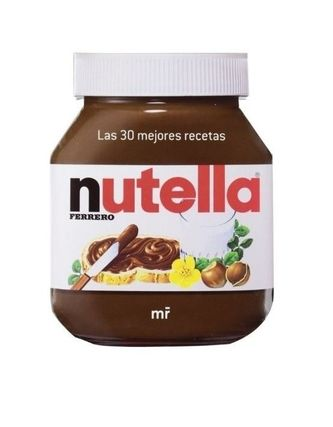 Whole recipe book Nutella nutella ferrero Spain language
