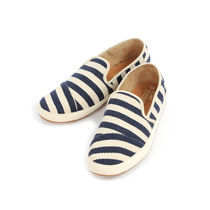 TOMS Suede Blended Fabrics Plain Loafers & Slip-ons