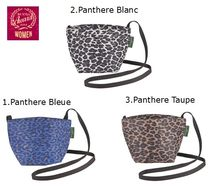 HERVE CHAPELIER Other Animal Patterns Shoulder Bags