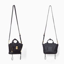 3.1 Phillip Lim Calfskin 2WAY Plain Handbags