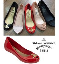 Vivienne Westwood Open Toe Collaboration Peep Toe Pumps & Mules