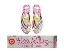 Lilly Pulitzer Flower Patterns Tropical Patterns Collaboration Sandals