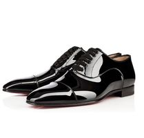 Christian Louboutin Enamel Plain Oxfords