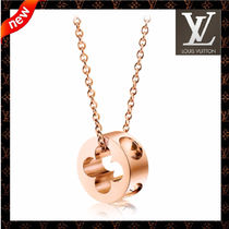 Louis Vuitton MONOGRAM EMPREINTE Chain 18K Gold Fine