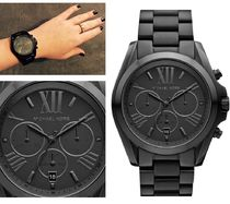 Michael Kors Casual Style Round Quartz Watches Stainless Analog Watches