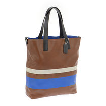 Coach Stripes Unisex Leather Totes