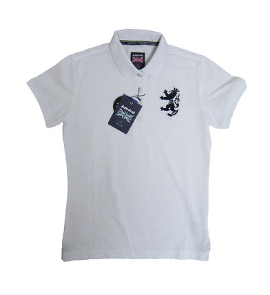 Street Style Cotton Short Sleeves Polo Shirts