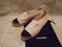 CHANEL ICON Leather Loafers & Slip-ons