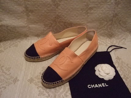 CHANEL Loafers & Slip-ons Unisex Street Style Leather Loafers & Slip-ons 3