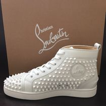 Christian Louboutin LOUIS Plain Leather Sneakers