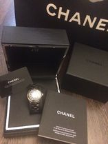 CHANEL J12 Party Style Jewelry Watches Stainless Office Style