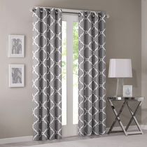 MADISON PARK Geometric Patterns Curtains