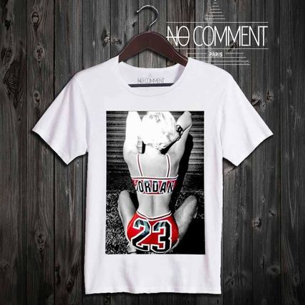 NO COMMENT PARIS More T-Shirts Pullovers Street Style Cotton Short Sleeves T-Shirts