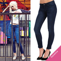 Siwy Blended Fabrics Plain Cotton Long Skinny Jeans
