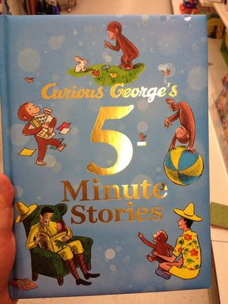 Curious George five-minute stories
