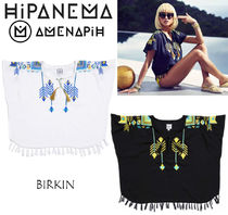 HIPANEMA Tropical Patterns Medium Short Sleeves Fringes
