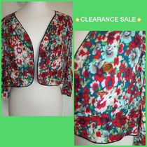 Primark Short Flower Patterns Jackets
