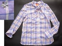 Manoush Other Check Patterns Long Sleeves Cotton Shirts & Blouses